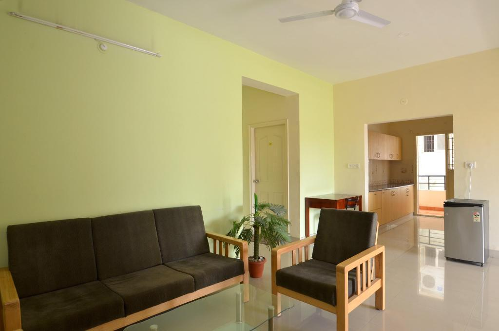 Serviced Apartments in  HBCS Layout, Bangalore | exterior view