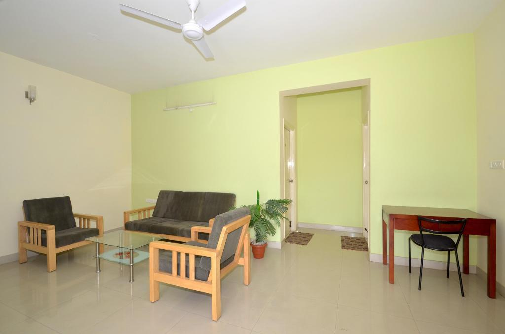 Book Alcove Service Apartments in Bangalore | Living Area