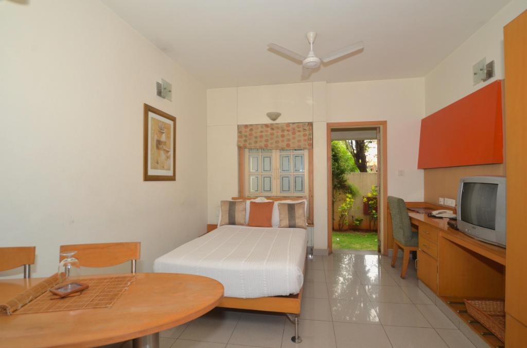 serviced apartments in AECS Layout, Bangalore  | Master Bedroom