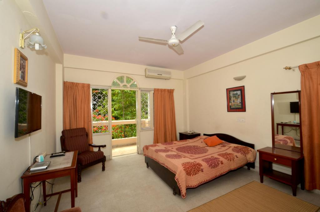 Bedroom | Service Apartments in Langford Town, Bangalore
