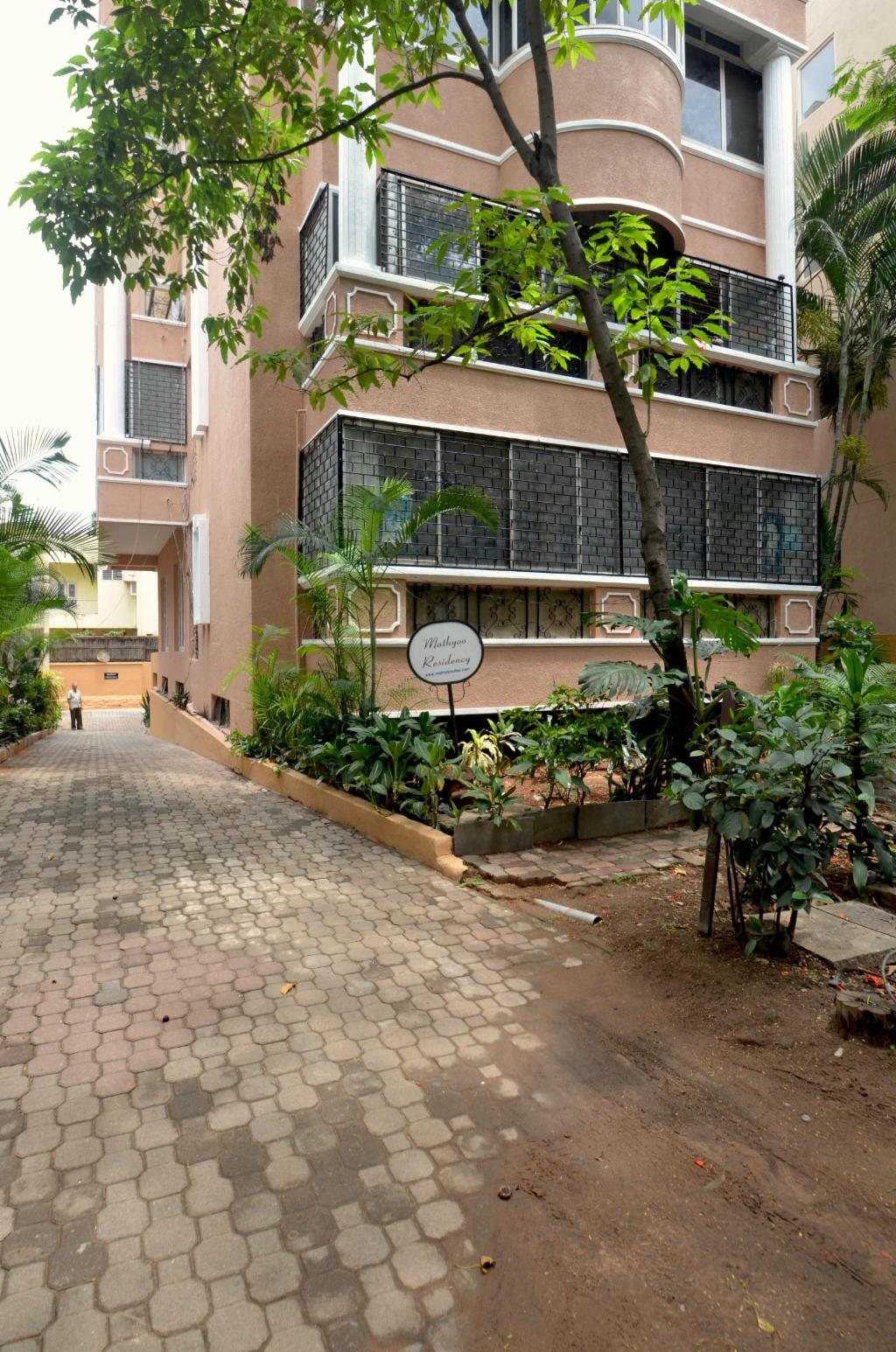 Living room |  Fully furnished Service apartments in Langford Town, Bangalore