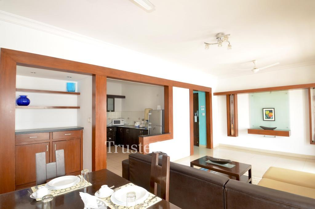 Book Service Apartments in Bangalore | Living Area