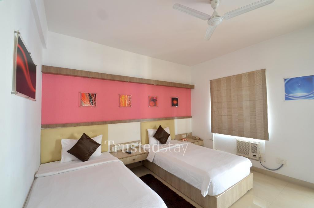 Delux room | Alcove service apartment in Bangalore