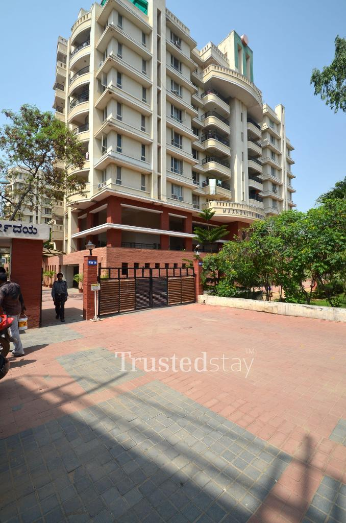 Exterior view | Serviced apartments in Bangalore