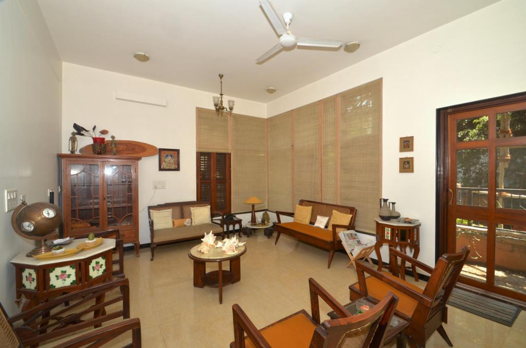 Living Room | Bangalore service apartments in Richmond Road