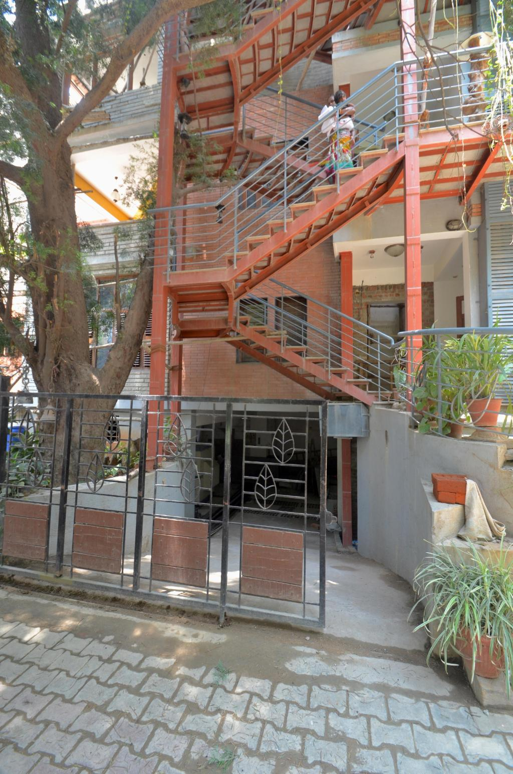 Exterior view | Fully Furnished Service Apartments in Richmond Road, Bangalore