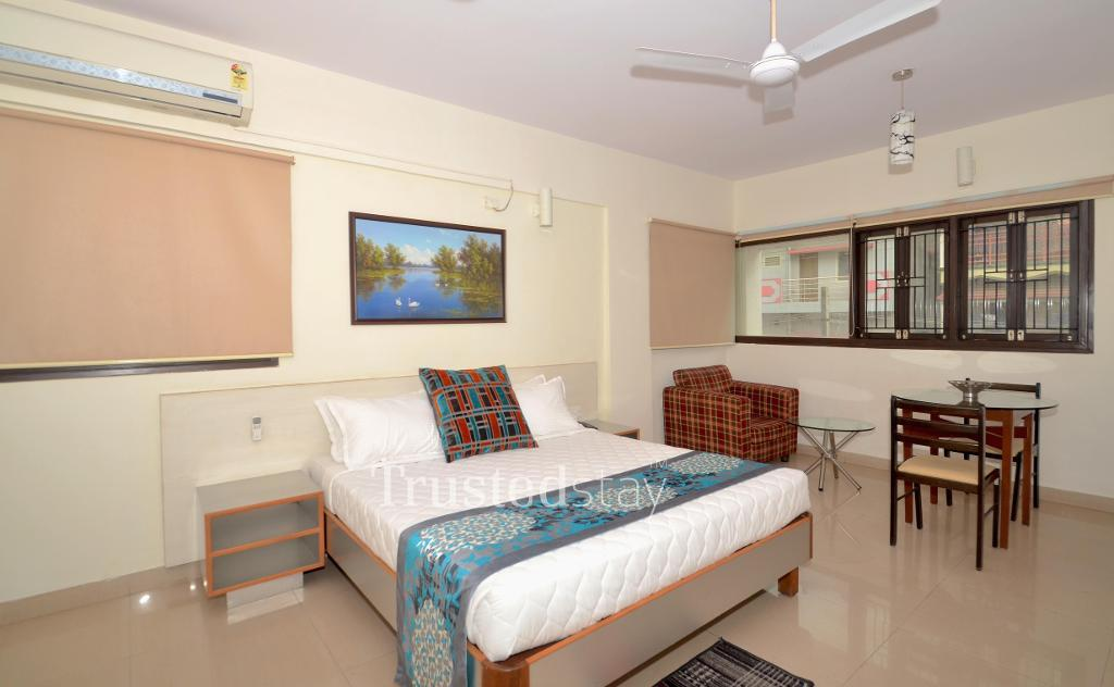 Service apartment in sarjapur road, Bangalore | Bedroom