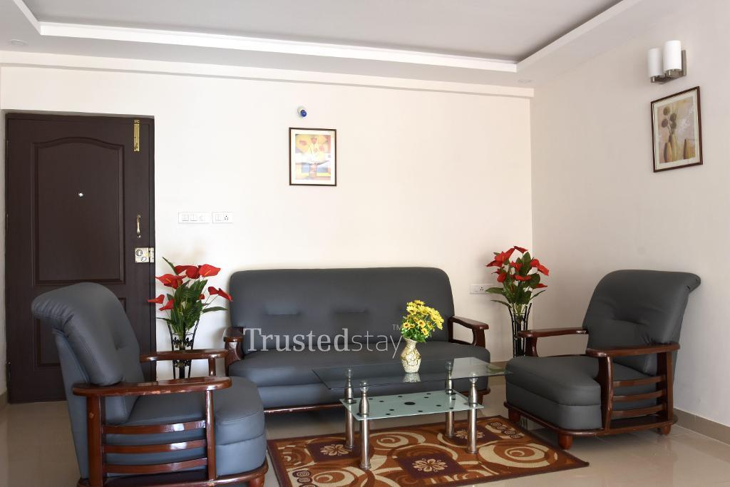 serviced apartments in Whitefield, Bangalore | Master Bedroom