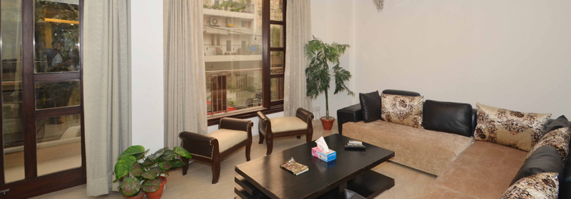 Service Apartments in Hemkunt Colony, Delhi
