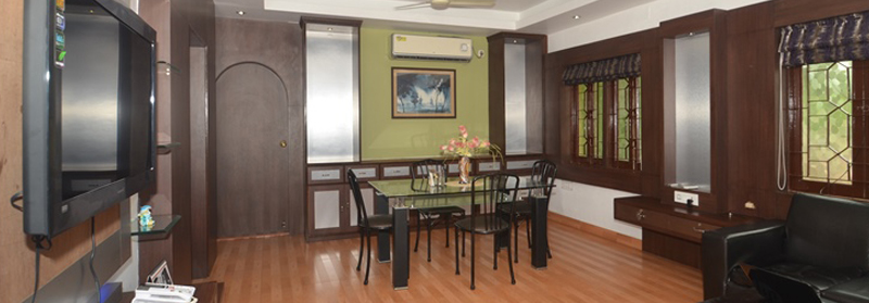 Service Apartments in Salt Lake, BJ Block, Kolkata