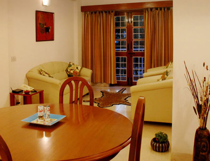 Dining area | Service Apartments in Koramangala