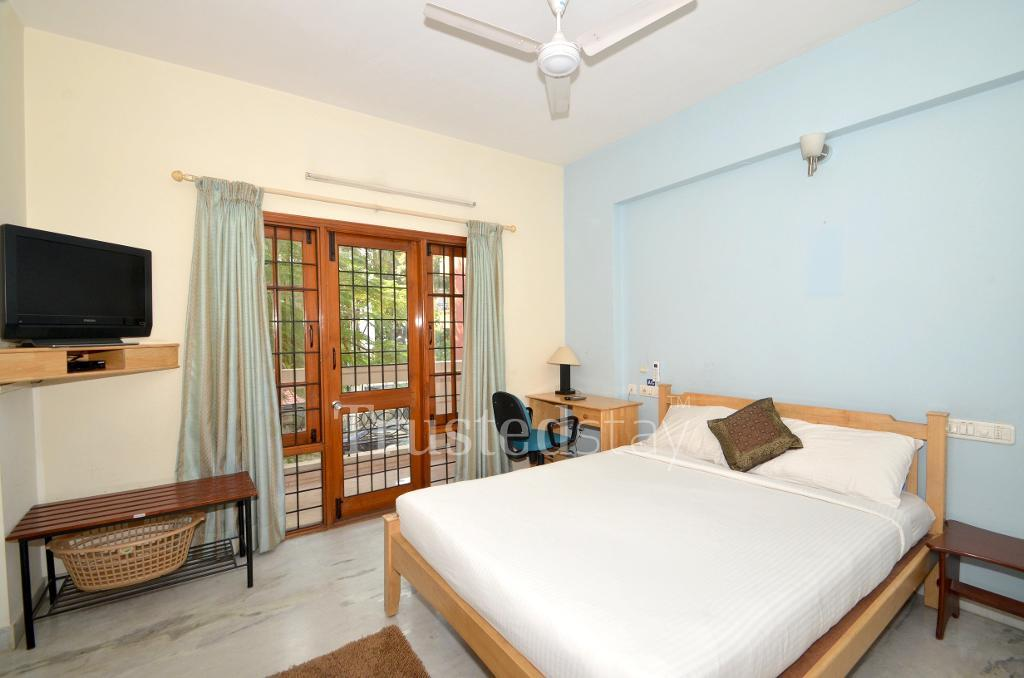 Bedroom | Alcove Service Apartments in Bangalore