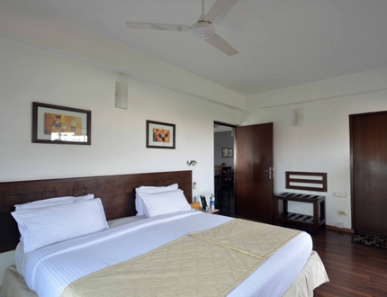 Master Bed Room | Alcove Service Apartments in Chennai