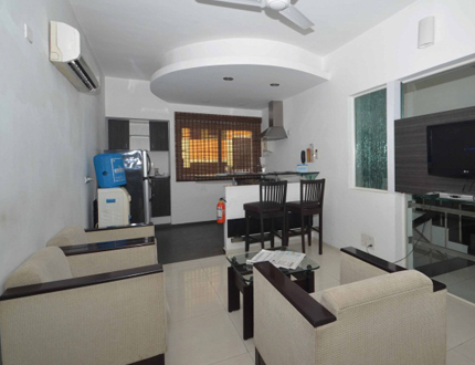 Exterior view | Service apartments  in Chennai