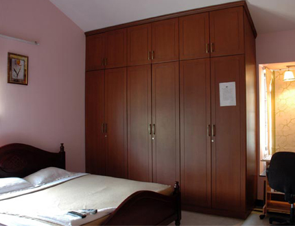 Alcove Service Apartments in Chennai | Master Bed Room