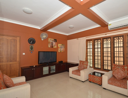 Kakkanad Divine Village Living Area