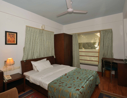 Ballygunge Broad Sreet Bedroom