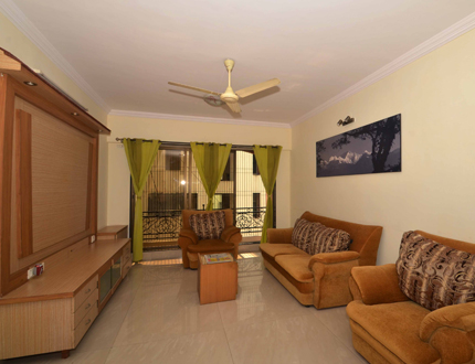 Malad East Moksh Living Area