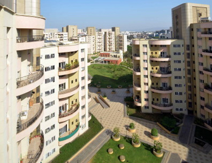Exterior view | Service apartment in Magarpatta City, Pune